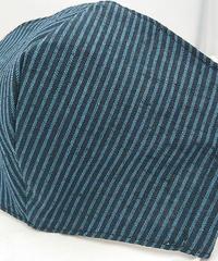 遠州織物ガーゼマスク(縞0064)