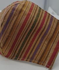 遠州織物ガーゼマスク(縞0120)