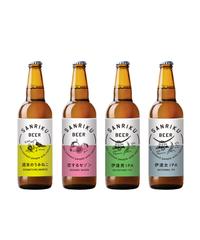 三陸ビール  (4種)5本+ビアグラス 1個セット