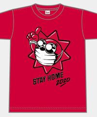 TAIYOSHIN☀︎STAY HOME Tシャツ【レッド】S-XL