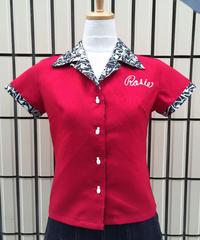 Gang RockerLadies Bowling Shirts【SVY-LSH057】