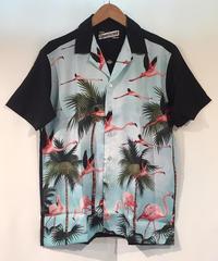 Pink Flamingo Hawaiian Shirts【LB-MBS-19005】