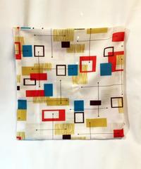 Mid-Century Modern Cushiion Cover(Geometric Design Ivory) 【NB-HW004】