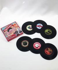 Rockabilly Vinyl Coaster 6pcs Box Set【NB-HW003】