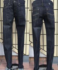 Slub Black Denim Slim Pants【SVY-PT068】