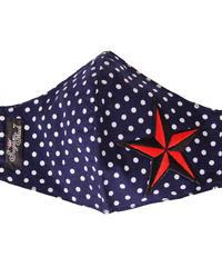 Rockin Star Polkadot Face Mask【5697 】