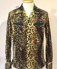 Fake Fur Animal Open Shirts ( Gold Leo Big )【SVY-SH284】