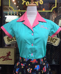 Let It Ladies Bowling Shirts【SVY-LSH100】