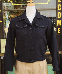Ladies Multi Nep Hand Stitch Jacket【SVY-LJK026】
