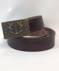 Heimwarts Leather Belt【 RUM868】