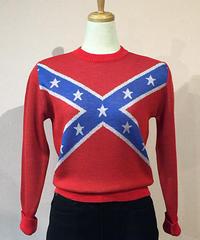 Rebel Flag Ladies Wool Knit【SVY-KN039】