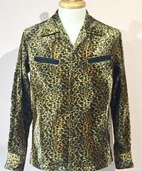 Fake Fur Animal Open Shirts ( Gold Leo Small )【SVY-SH284】