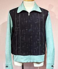 """DoublePleated  """"Kasuri"""" Sport Jacket【SVY-JK114】"""