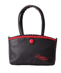Thaynara 2-tone Polka Dots Handbag【5590】