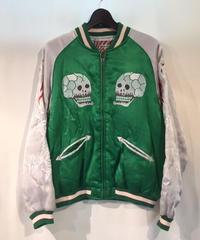Houston SOUVENIR JACKET (SKULL&SNAKE)【50443】Green