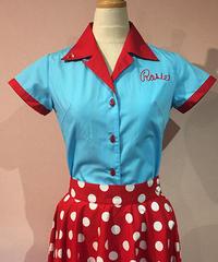 El Diablo Ladies Bowling Shirts【SVY-LSH079】