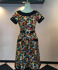 Pin-up Girl 柄Jacqueline Dress【SVY-OP077】