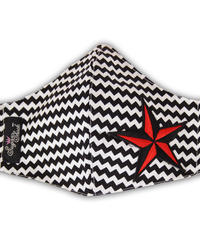Rockin Star Zigzag Face Mask【5706】