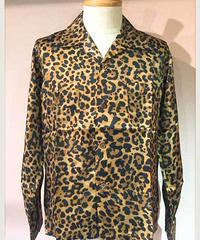 Cupra Leopard Open Shirts【SVY-SH274】