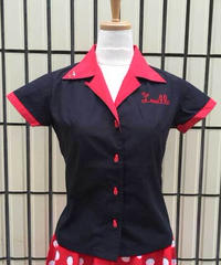 Lucille Ladies Bowling Shirts【SVY-LSH067】