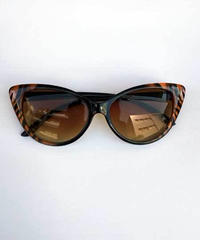 Leopard TipPointed CatEye Sunglasse【NB-SGC23】
