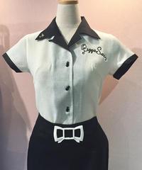 PeggieSue Ladies Bowling Shirts【SVY-LSH078】