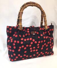 Cherries Bamboo 50s retro Handbag【5150】