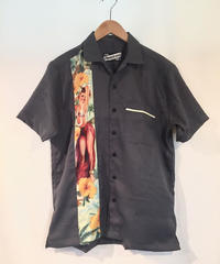 Hula Girl Lounge Shirts【LB-MBS-19019】