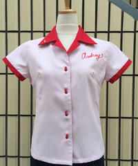 Everybody Loves Ladies Bowling Shirts【SVY-LSH061】