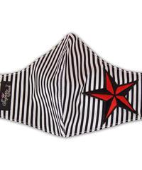 Rockin Star Stripe Face Mask【5699】