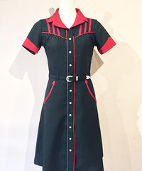 Western Bowling Diners Dress【SVY-OP103】