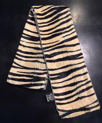 Gold Zebra Pattern P/P Maffler【SVY-MF030】