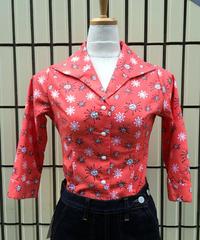 Star Burst Hem knot blouse【SVY-LSH069】