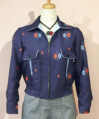 (Ladies) Double Argyle Reversible Sport Jacket【SVY-LJK025】