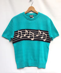 Musical Note S/S Summer Knit【SVY-MKN002】