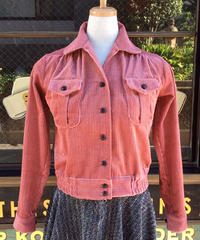 Corduroy Ladies Shirts Blouson【SVY-LSH105】