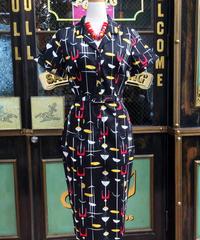 Caterina 50's Atomic Pencil Dress【AW200718D】