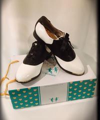 Patent Saddle Shoes【BND060】