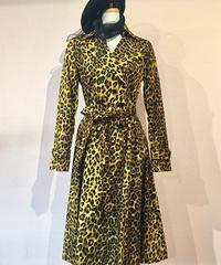 Scarlett Leopard Spring Trench Coat【VAW180615A】