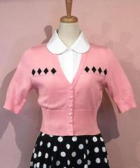 Dia Hearf Sleeve Short Summer Knit【SVY-KN040】