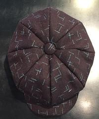 Melton Wool Kasuri Big Casquette【SVY-HT110】