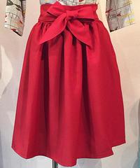 Ribon Belt Gathers Skirt【SVY-SK060】