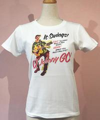 Go Johnny  Ladies Swing Tee【SVY-LDT135】