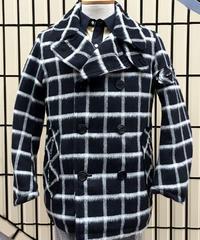 Windowpen Zip P-Coat【SVY-CT023】