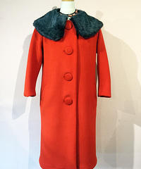 Wool Serge Catherine Long Coat (Red)【SVY-LCT030】