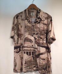 NewYork Picture Print Hawaiian Shirts【40728】