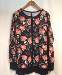 Rose Tattoo Cardigan【CAR-039】