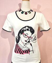 "Banned ""Oh Dear""Ladies T-Shirt【TP1327】"