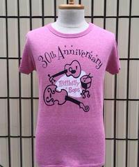 HILLBILLY BOPS 30th Anniversary ヘザーTEE【THB-005】