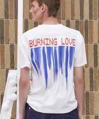 HENRIK VIBSKOV / Burning Love Tee -White-